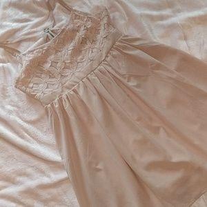Pale pink /nudish  dress